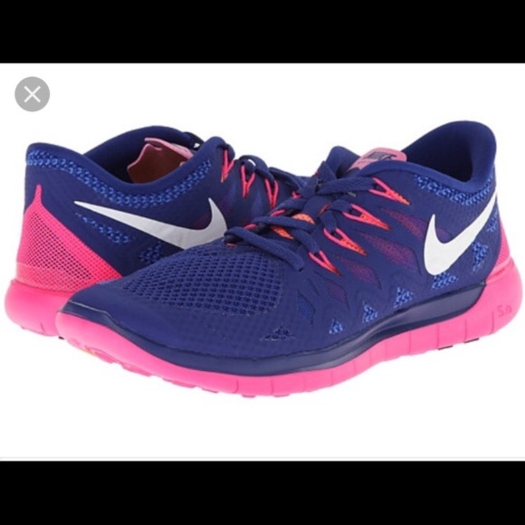 4f79320378a Pink Blue Nike Free Run 5.0-size 7. M 5b8dc0afcdc7f7276b772027